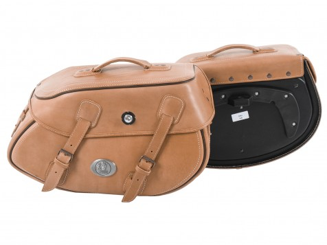 Saddlebags Buffalo brown for C-Bow Carrier