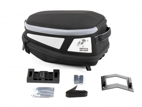Royster Rearbag Sport incl. Lock-it attachment - black/grey