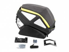Royster Rearbag incl. Lock-it attachment - black / yellow