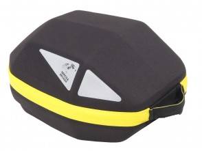 Tankbag Royster Daypack 5,5 ltr. black with yellow zipper