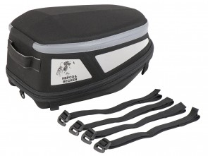 Royster rearbag Sport with strap attachment - black/grey