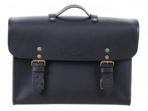 Legacy Leather Briefcase black for C-Bow carrier