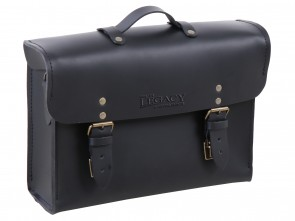 Legacy Leather Briefcase black