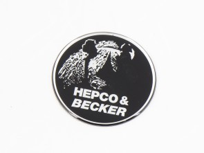 Logo 50mm self-adhesive for different Hepco&Becker cases